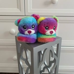 Build a Bear Toddler Slippers S(10-11)